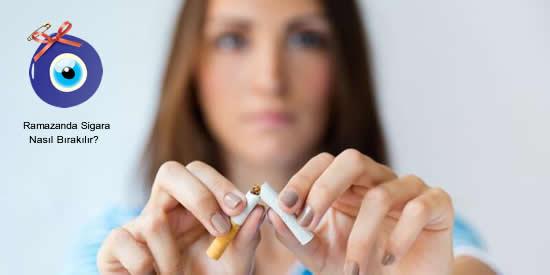 Ramazanda Sigara Nasıl Bırakılır?