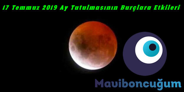 17 Temmuz 2019 Parçalı Ay Tutulması