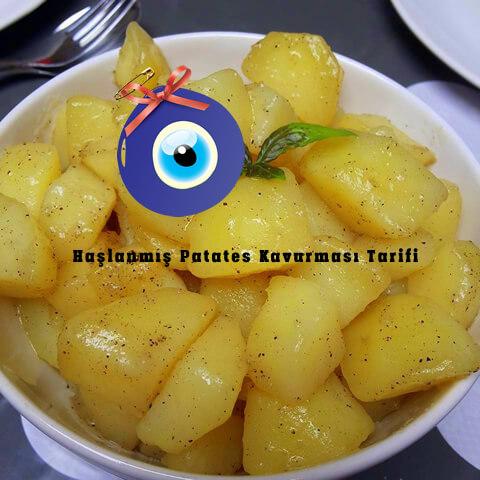 Haşlanmış Patates Kavurması Nasıl Yapılır?