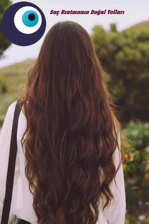 Saç uzatmanın Doğal Yolları
