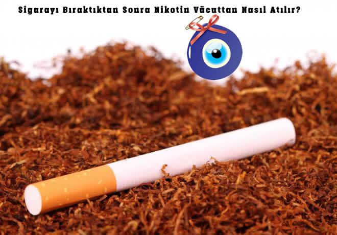 Sigarayı Bıraktıktan Sonra Nikotin Nasıl Atılır?