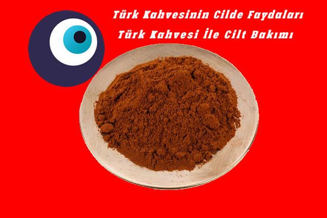 Türk Kahvesi İle Cilt Maskesi Tarifleri