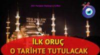 2021 Ramazan Başlangıcı Ve Bitişi