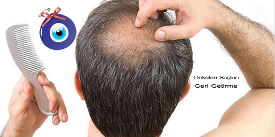 Dökülen Saçları Geri Getirme Yöntemleri